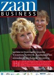 VrouwenNetwerk ZaanstadPlus stimuleert ... - Zaanbusiness