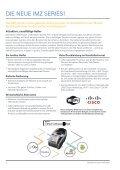 iMZ220™- und iMZ320™ -Drucker von Zebra - Seite 2
