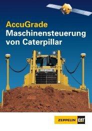 Maschinensteuerung AccuGrade für Cat Maschinen - Zeppelin ...