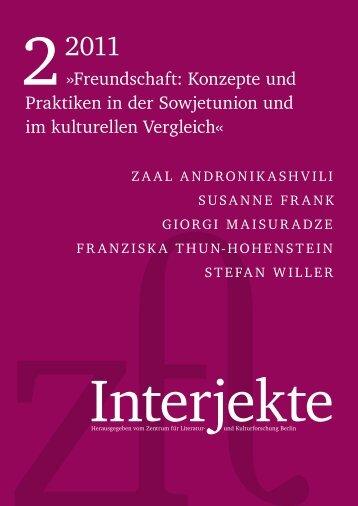 Volltext lesen... - Zentrum für Literatur