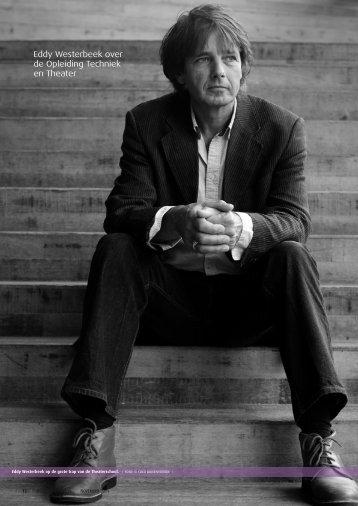 Eddy Westerbeek over de Opleiding Techniek en Theater - Zichtlijnen