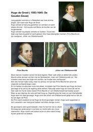 Hugo de Groot ( 1583-1645: De Gouden Eeuw)