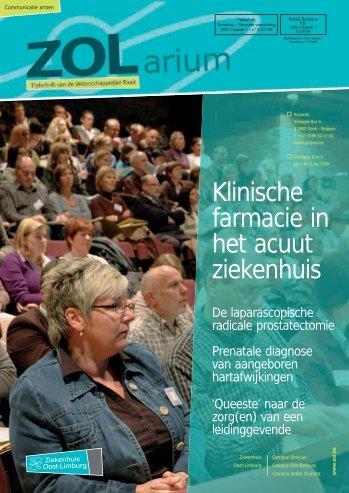 Klinische farmacie in het acuut ziekenhuis - Ziekenhuis Oost-Limburg