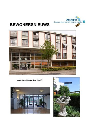 Bewonersnieuws oktober 2010 - Zorggroep Almere
