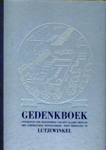 Lutjewinkel 25 Jr. - Zuivelhistorie Nederland