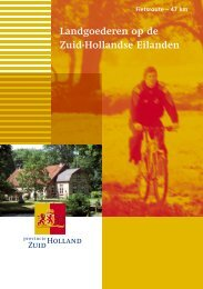 0684.1140 Fietsroutes uitgave 3_2.indd - Welkom in Zuid-Holland