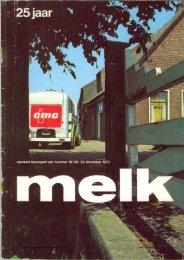 C.M.C.-Melk Unie 25 jr. - Zuivelhistorie Nederland