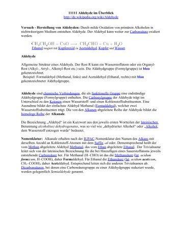 Siedepunkte von Alkanen und Alkoholen