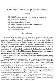 Nicolaas Struyck en zijn sterftetafels I, 1924