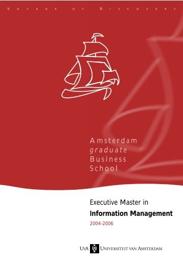 Information Management - Universiteit van Amsterdam