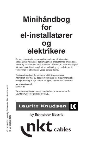 Minihåndbog for el-installatører og elektrikere - Lauritz Knudsen