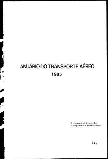 Dados Estatísticos - Anac