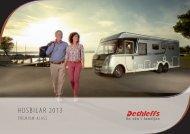 Katalog husbilar Premium-Klass 2013 - Dethleffs