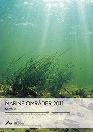 Marine områder 2011 - DCE - Nationalt Center for Miljø og Energi