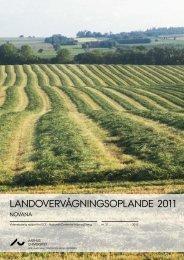 landovervågningsoplande 2011 - DCE - Nationalt Center for Miljø ...
