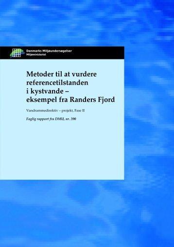 Metoder til at vurdere referencetilstanden i kystvande – eksempel fra ...