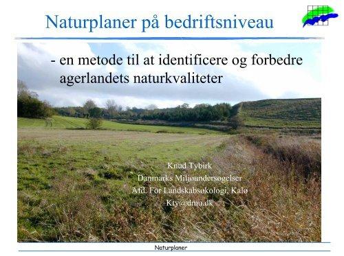 Naturplaner på bedriftsniveau