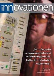 """""""Das umfangreiche Energiemanagementprojekt wird den ..."""