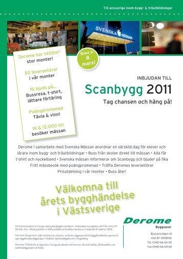 Scanbygg 2011