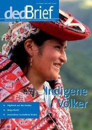Indigene Völker - Gtz