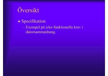 Specification V