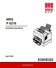 E320/E322 - Nashuatec
