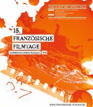 18 BIS 25 NOV 2009 LEIPZIG | HALLE - Französischen Filmtage