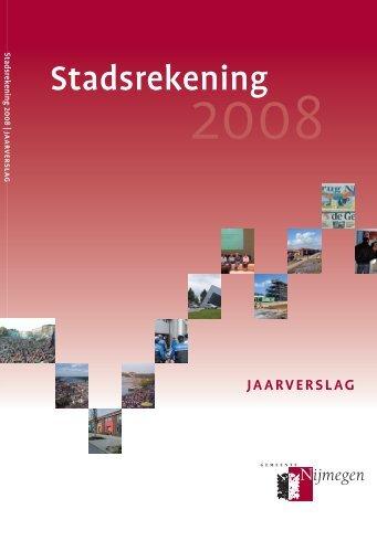 Raadsvoorstel 71a/2009 Bijlage jaarverslag 2008 Gepubliceerd op ...