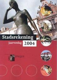 Raadsvoorstel 160/2005 - Gemeente Nijmegen