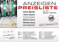 Media-Daten/Preisliste 2012 [PDF-Format, 1.5MB - Gießener ...