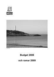 Budget 2008 och ramar 2009 - Varbergs kommun