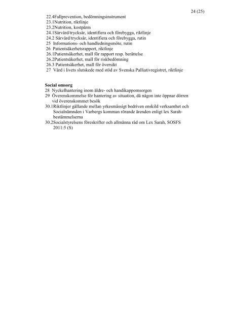 Upphandling av insatser inom hemtjänsten i Varbergs kommun ...
