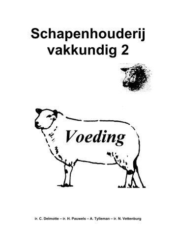 Schapenhouderij vakkundig 2 - Vlaanderen