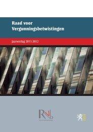 Jaarverslag RvVb 2011 – 2012 - Vlaanderen