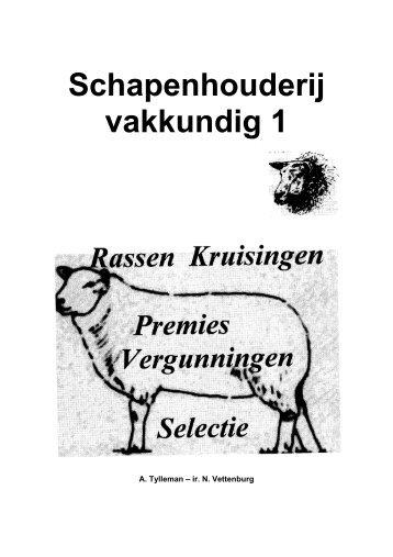 Schapenhouderij vakkundig 1 - Vlaanderen