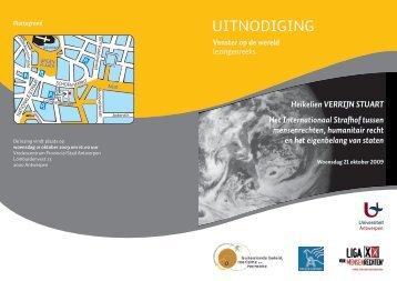 uitnodging - Vlaanderen