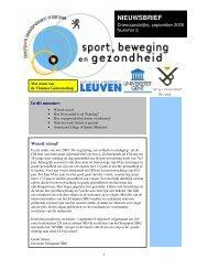 Steunpunt Sport, Beweging en Gezondheid - Vlaanderen