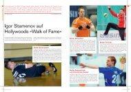 Igor Stamenov auf Hollywoods «Walk of Fame» - Handballworld