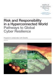 936911 World Economic Forum Report--risk and responsibility in a ...