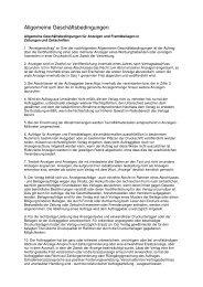 Allgemeine Geschäftsbedingungen als Pdf-Dokument (63 kb)