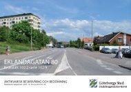 Antikvarisk bedömning pdf, 4 528 kB - Göteborg