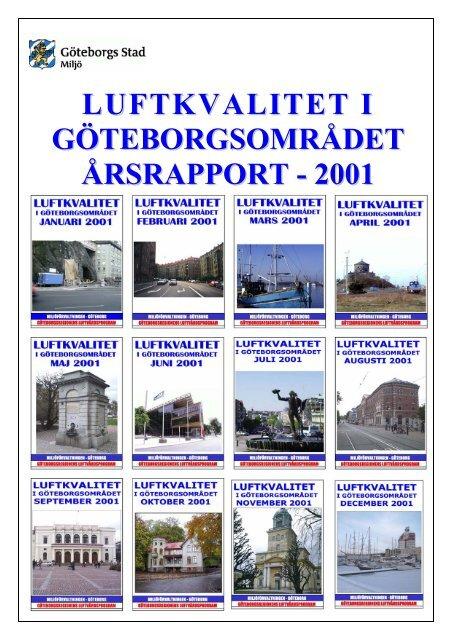 Karta E6 Goteborg.Figur 1 Karta Over Mat