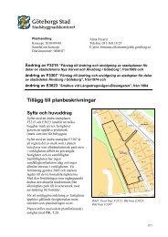Planbeskrivning pdf, 3 473 kB - Göteborg