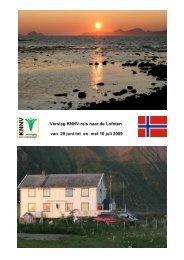 Verslag KNNV-reis naar de Lofoten (PDF)
