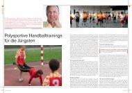 Polysportive Handballtrainings für die Jüngsten - Handballworld
