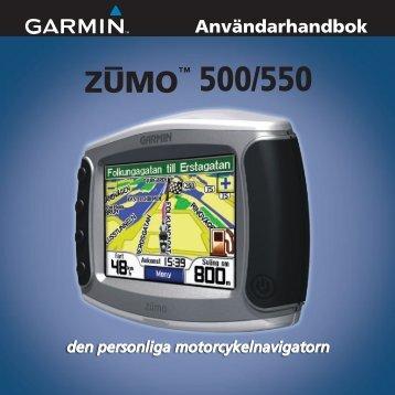 ZUMO™ 500/550 - Garmin