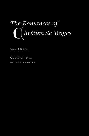 6248 Duggan / ROMANCES OF CHRETIEN DE TROYES