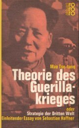 Theorie des Guerillakrieges - ZineLibrary.info