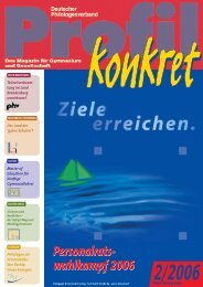 Profil - Dphv Deutscher Philologenverband