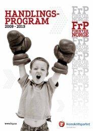 Handlings- program - TVU-INFO